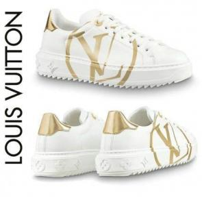 acheter shoes women louis vuitton round gold lv
